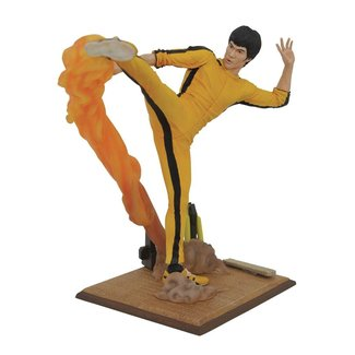 Diamond Select Toys Bruce Lee Gallery PVC Statue Kicking 25 cm