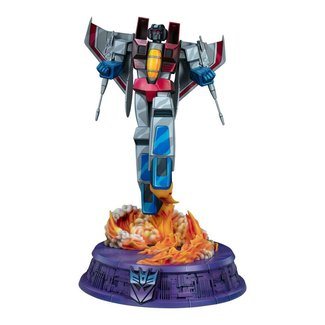 Pop Culture Shock Transformers Museum Scale Statue Starscream - G1 67 cm