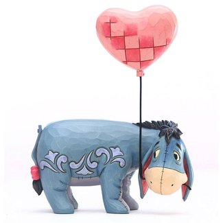Enesco Disney Statue Eeyore with a Heart Balloon (Winnie the Pooh) 20 cm