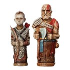 God of War Statue 2-Pack Atreus' Toys 16-18 cm