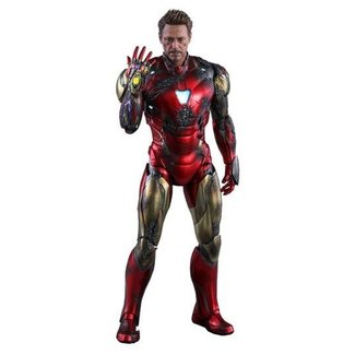 Hot Toys Avengers: Endgame MMS Diecast Action Figure 1/6 Iron Man Mark LXXXV Battle Damaged Ver. 32 cm