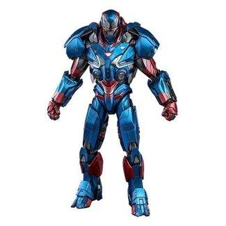 Hot Toys Avengers: Endgame Movie Masterpiece Series Diecast Action Figure 1/6 Iron Patriot 32 cm