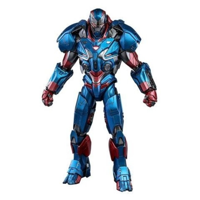 Hot Toys Avengers: Endgame Movie Masterpiece Series Diecast Action Figure 1/6 Iron Patriot 32 cm