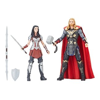 Hasbro Thor: The Dark World Marvel Legends Series Action Figure 2-Pack Thor & Sif 15 cm