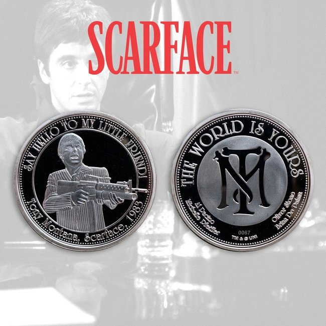 FaNaTtik Scarface Collectable Coin The World Is Yours