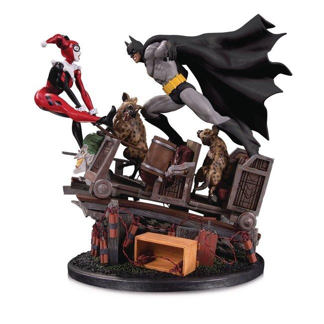 DC Collectibles DC Comics Statue 1/8 Batman VS. Harley Quinn Battle Second Edition 44 cm