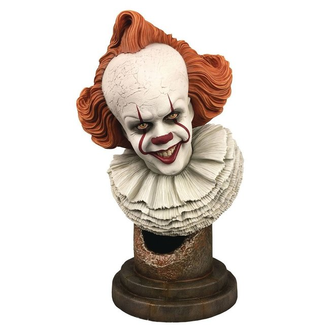 Diamond Select Toys It Chapter Two Legends in 3D Bust 1/2 Pennywise 25 cm