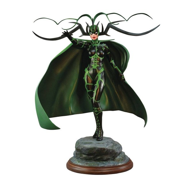 Diamond Select Toys Marvel Comic Premier Collection Statue Hela 30 cm