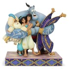 Disney Statue Group Hug (Aladdin) 20 cm