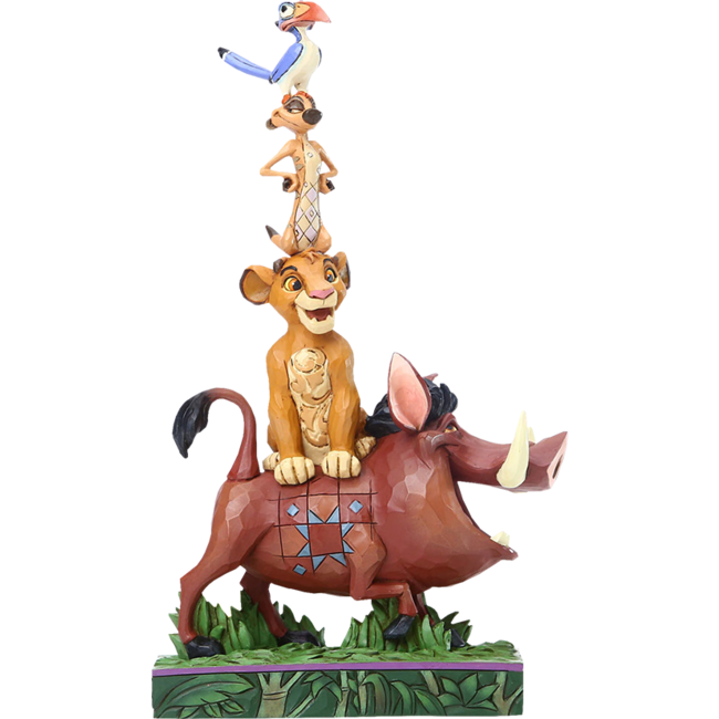 Enesco Disney Statue Stacked Characters by Jim Shore (The Lion King) 20 cm