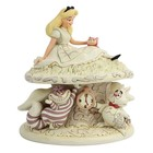 Disney Statue White Woodland Alice in Wonderland (Alice in Wonderland) 18 cm