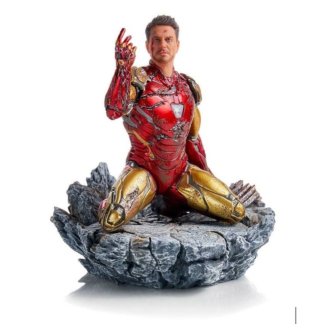 Iron Studios Avengers: Endgame BDS Art Scale Statue 1/10 I am Iron Man 15 cm