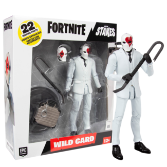 McFarlane Fortnite Action Figure Wild Card Red 18 cm