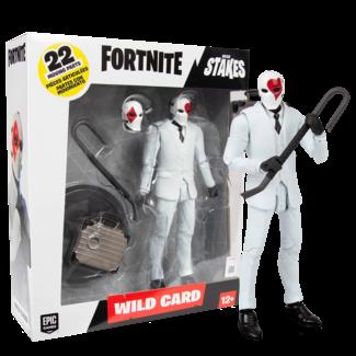 McFarlane Fortnite Action Figure Wild Card Red 18 cm