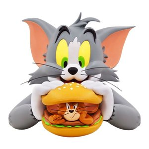 Tom and Jerry Vinyl Bust Jerry Burger 23 cm
