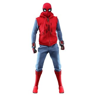 Hot Toys Spider-Man: Far From Home Movie Masterpiece Action Figure 1/6 Spider-Man (Homemade Suit) 29 cm