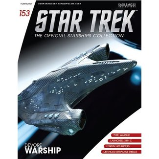 Eaglemoss Collections Star Trek Official Starships Collection #153