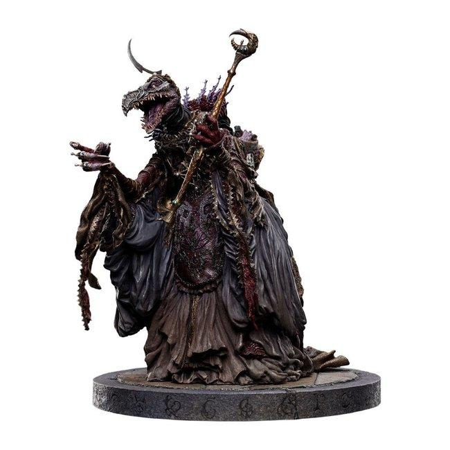 Weta Workshop The Dark Crystal: Age of Resistance Statue 1/6 SkekSo The Emperor Skeksis 33 cm