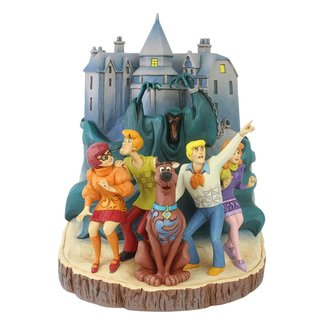Enesco Scooby-Doo Statue Carved by Heart 23 cm