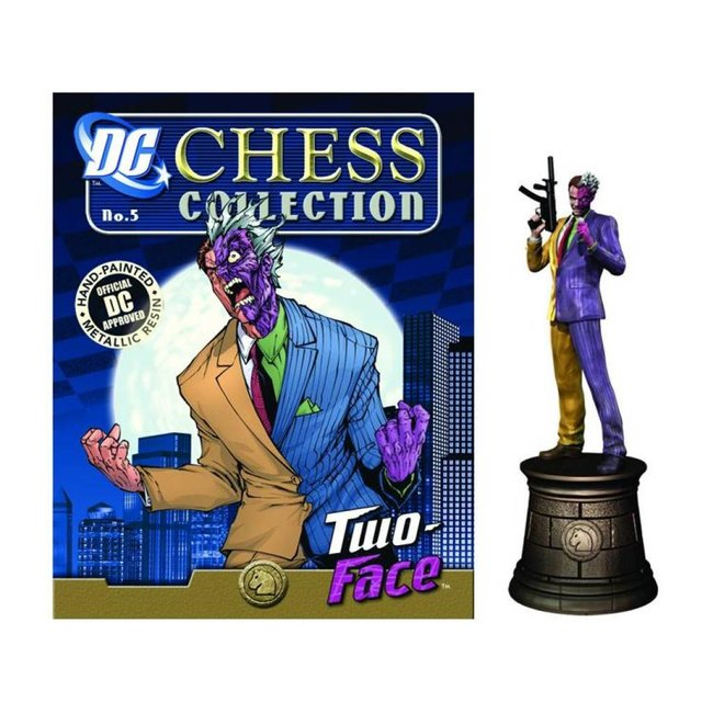 DC Superhero Chess 006 Two-Face Black Knight