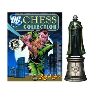 DC Superhero Chess 011 Ra's al Ghul Black Bishop