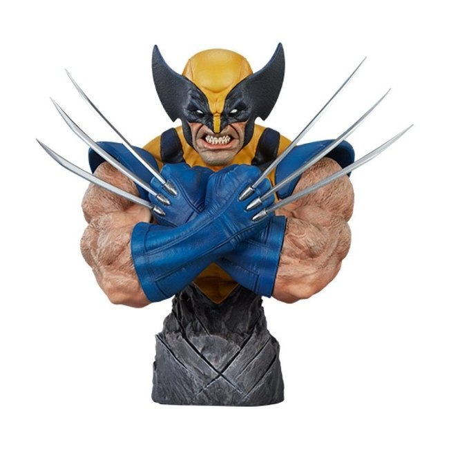 Sideshow Collectibles Marvel Comics Bust Wolverine 23 cm