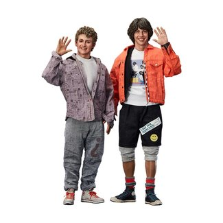 Blitzway Bill & Ted's Excellent Adventure Action Figure 2-Pack 1/6 Bill & Ted 28-29 cm