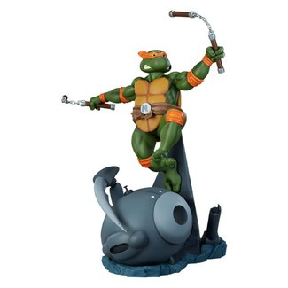 Pop Culture Shock Teenage Mutant Ninja Turtles Statue 1/4 Michelangelo 63 cm