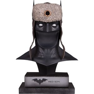 DC Gallery Bust 1/2 Red Son Batman Cowl 23 cm