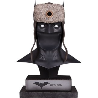 DC Collectibles DC Gallery Bust 1/2 Red Son Batman Cowl 23 cm
