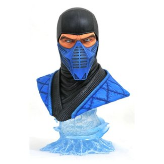 Diamond Select Toys Mortal Kombat 11 Legends in 3D Bust 1/2 Sub-Zero 25 cm