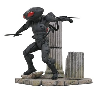 Diamond Select Toys Aquaman DC Movie Gallery PVC Statue Black Manta 23 cm