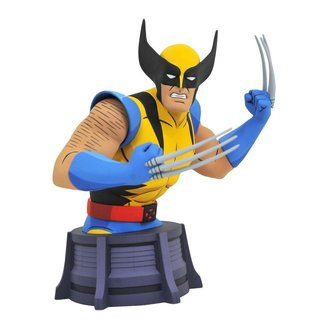 Diamond Select Toys Marvel X-Men Animated Series Bust Wolverine 15 cm