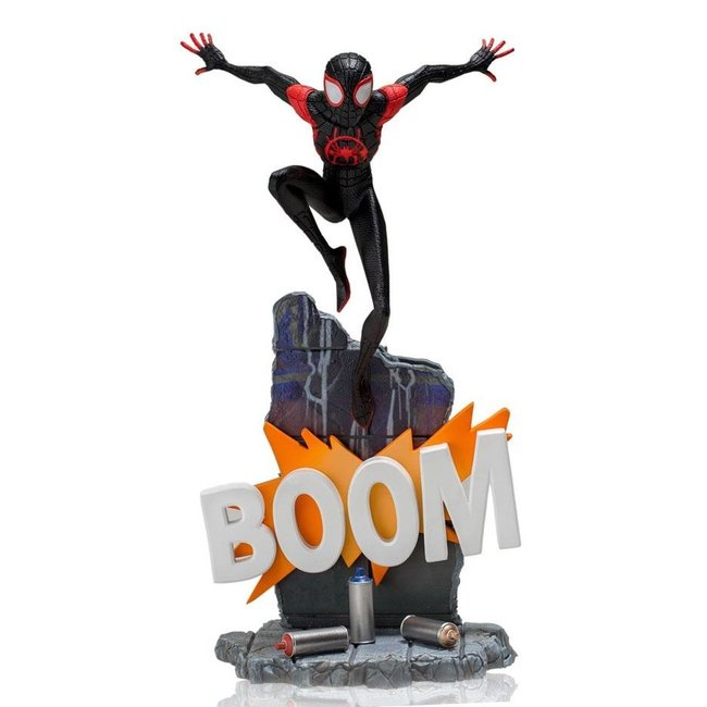 Iron Studios Spider-Man: Into the Spider-Verse BDS Art Scale Deluxe Statue 1/10 Miles Morales 22 cm