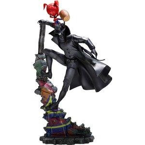 Spider-Man: Into the Spider-Verse BDS Art Scale Deluxe Statue 1/10 Noir & Spider-Ham 27 cm