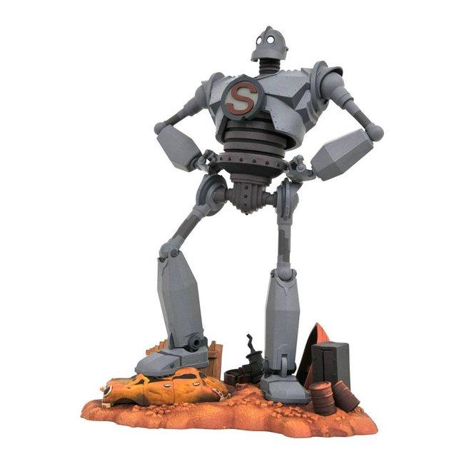 Diamond Select Toys The Iron Giant Gallery PVC Statue Superman 25 cm