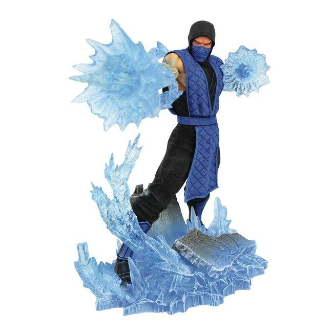 Diamond Select Toys Mortal Kombat Gallery PVC Statue Sub-Zero 23 cm
