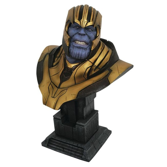 Diamond Select Toys Avengers: Infinity War Legends in 3D Bust 1/2 Thanos 28 cm