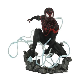 Diamond Select Toys Marvel Comic Premier Collection Statue Miles Morales Spider-Man 23 cm
