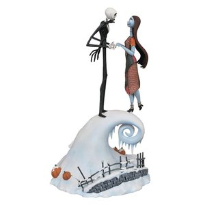 Nightmare Before Christmas Milestones Statue Jack & Sally 36 cm