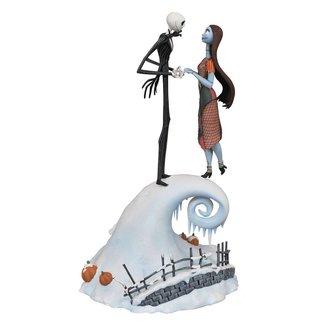 Diamond Select Toys Nightmare Before Christmas Milestones Statue Jack & Sally 36 cm