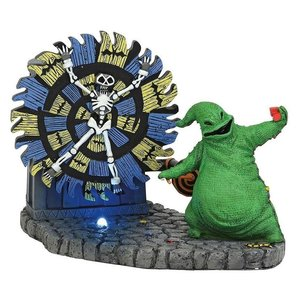 Nightmare Before Christmas Statue Oogie Boogie Gives a Spin 11 cm