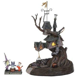 Enesco Nightmare Before Christmas Statue Lock, Shock & Barrel Treehouse 27 cm