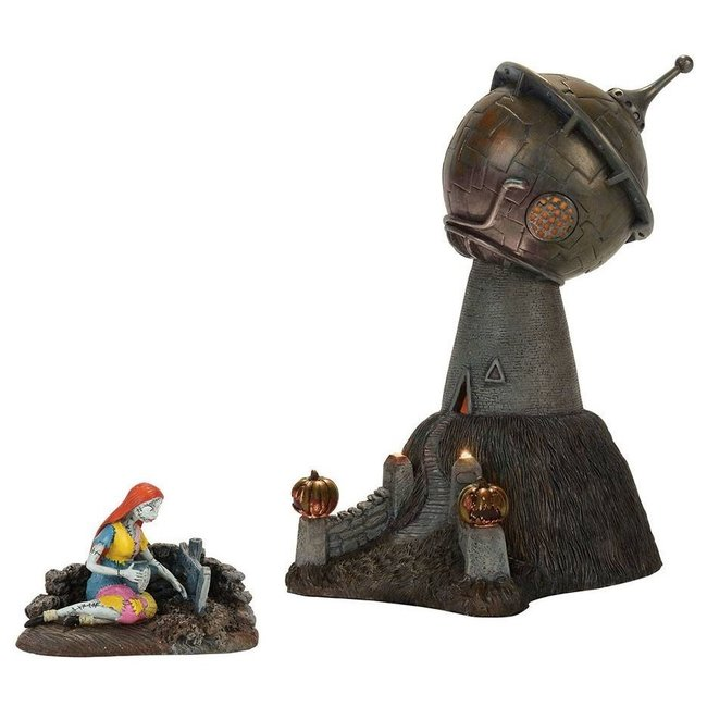 Enesco Nightmare Before Christmas Statue Dr. Finkelstein's Observatory 25 cm