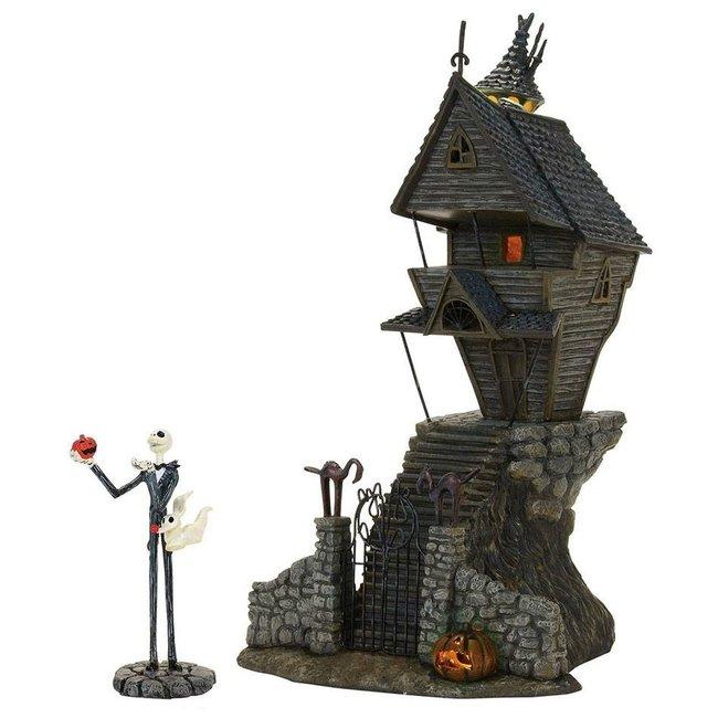 Enesco Nightmare Before Christmas Statue Jack Skellington's House 29 cm