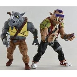 NECA  Teenage Mutant Ninja Turtles Action Figure 2-Pack Rocksteady & Bebop 18 cm