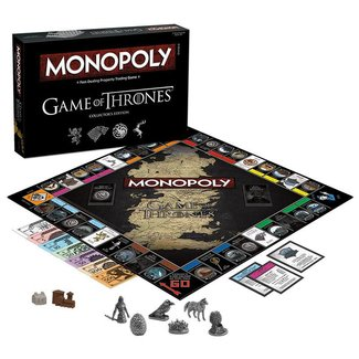 USAopoly Game of Thrones Board Game Monopoly Collectors Edition *English Version*