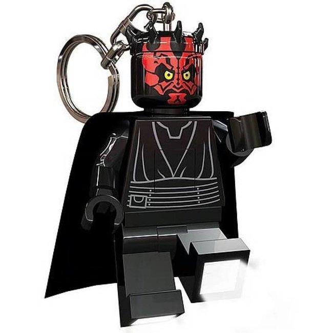 Lego Darth Maul Mini-Flashlight with Keychains