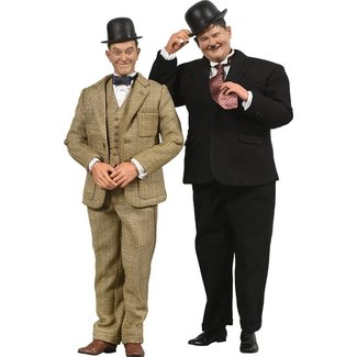 Big Chief Studios Laurel & Hardy Action Figure 2-Pack 1/6 Classic Suits Limited Edition 30-33 cm
