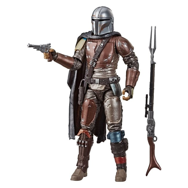 Hasbro Star Wars The Mandalorian Black Series Carbonized Action Figure The Mandalorian 15 cm